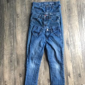 3 pairs of Children's place Skinny Jeans- Boys